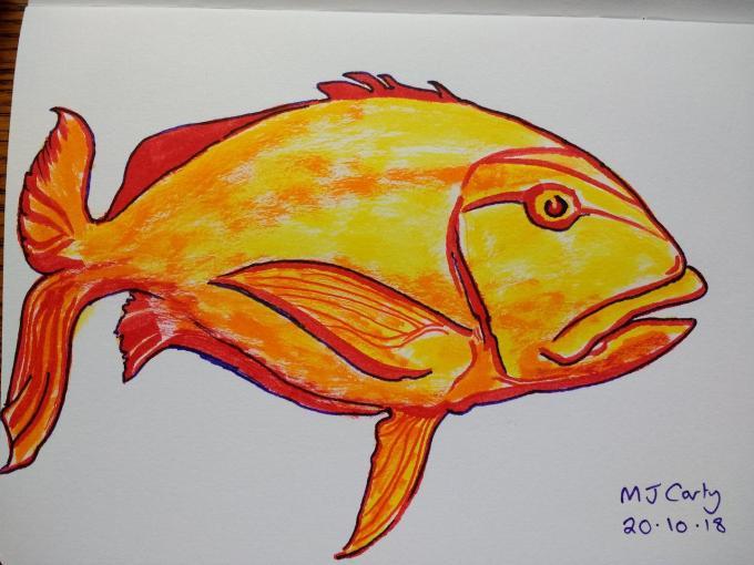 Inktober2018_20_Fish