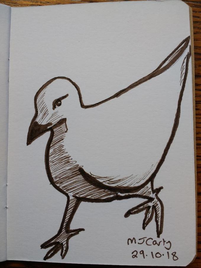 Inktober2018_29_Pigeon