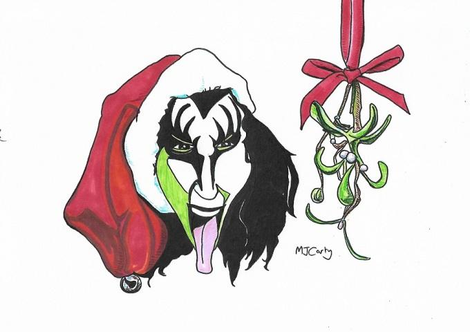 GeneSimmons_Christmas_KISS