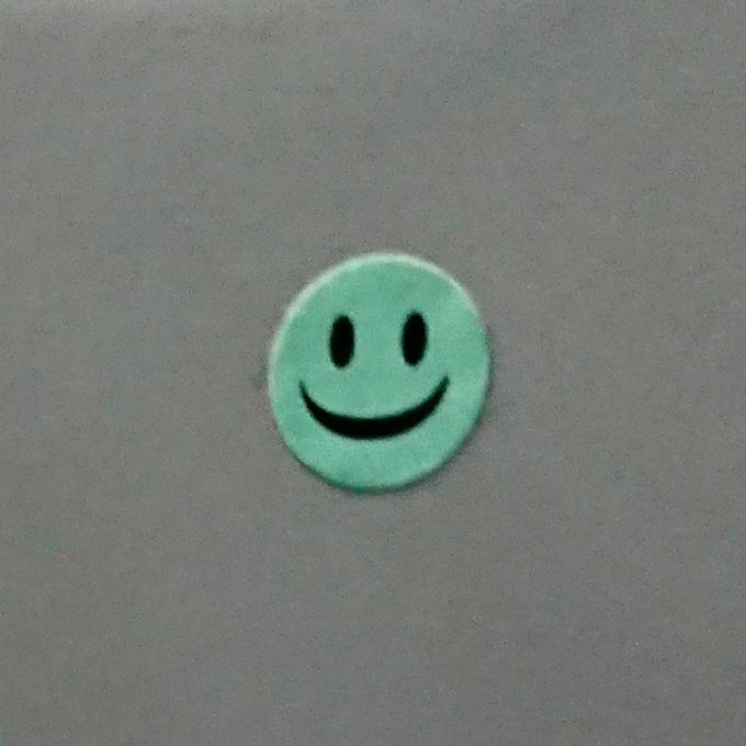 Centred smiley