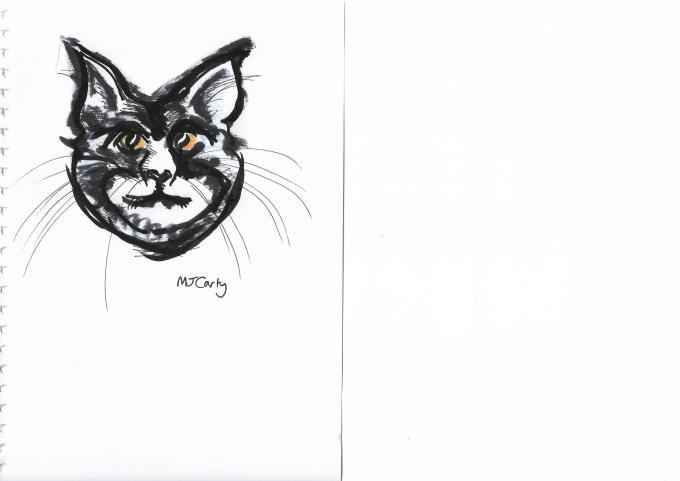 11 Inktober_11Oct2019_FridayFeline_ORIGINAL