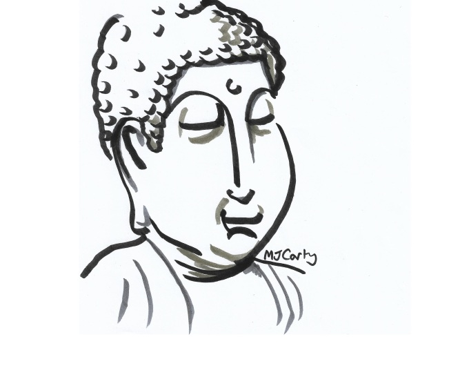 9 Inktober_9Oct2019_Buddha_CROPPED