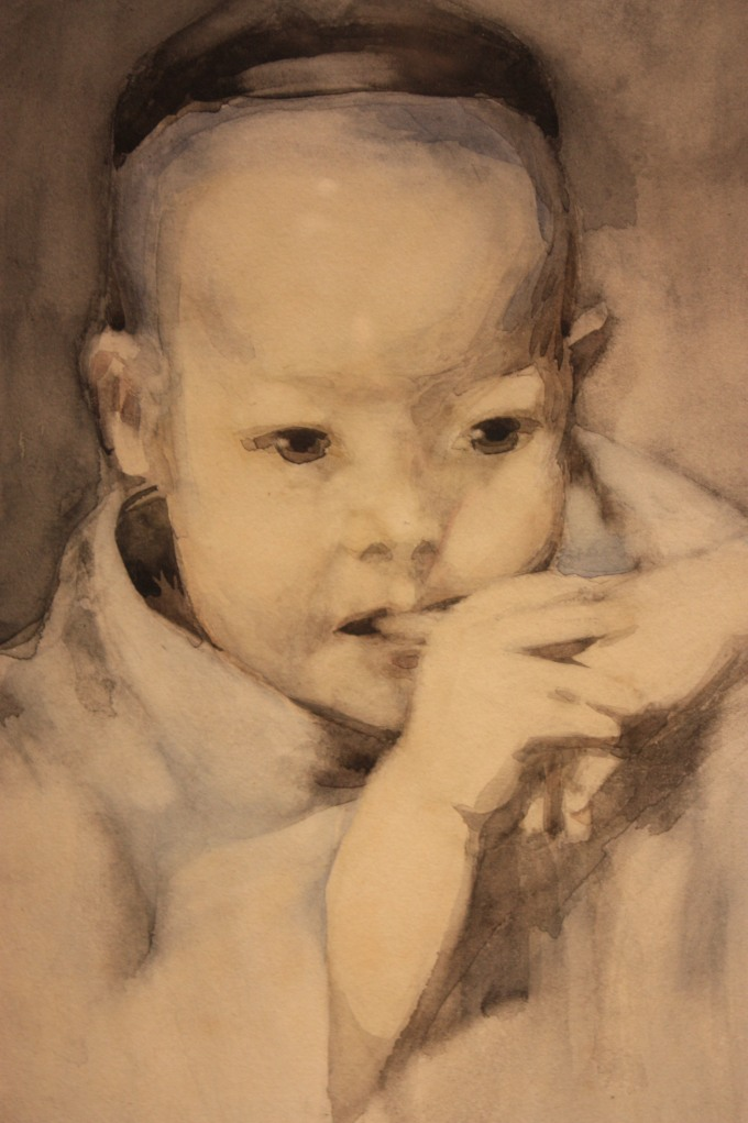 The_Japanese_Baby_by_George_Henry_1893_(watercolour)