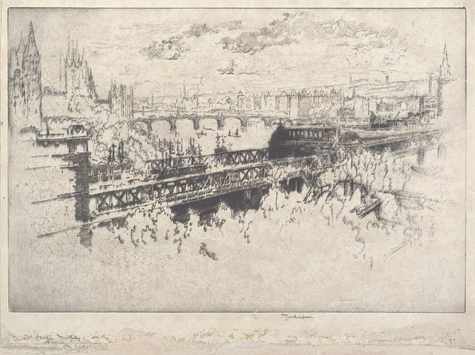 800px-Joseph_Pennell,_London_over_Charing_Cross_Bridge,_1910,_NGA_32923