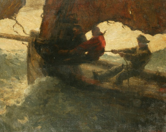 Max_Bohm_-_Fishermen_in_a_Stormy_Sea_(1898)