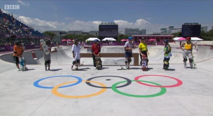 OlympicSkateboardersViaBBC1