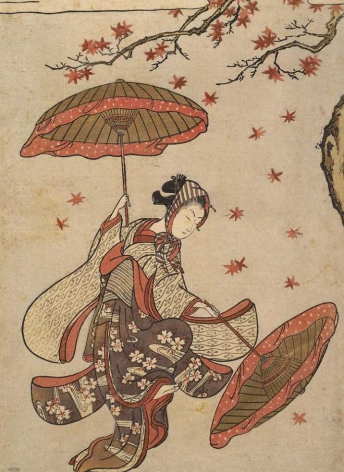 Dance_of_Autumn_Leaves-by_Suzuki_Harunobu-Tokyo_National_Museum